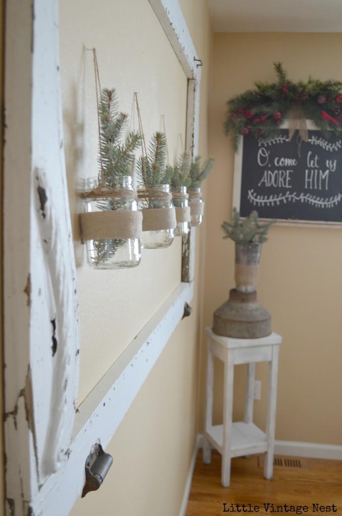 Little Vintage Nest Christmas Tour Dining Room Chalkboard