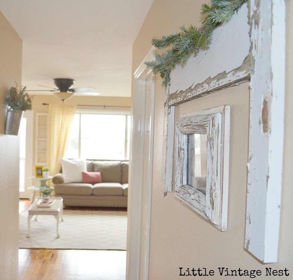 Christmas Home Tour Little Vintage Nest: Easy Holiday Decorating Ideas!