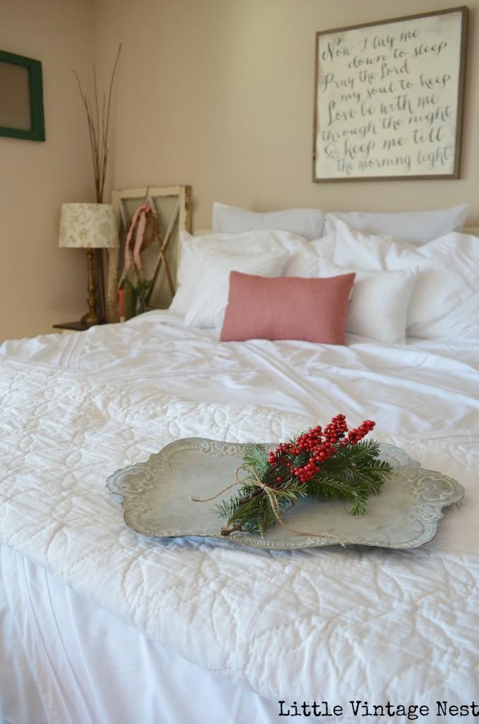 Little Vintage Nest Christmas Bedroom