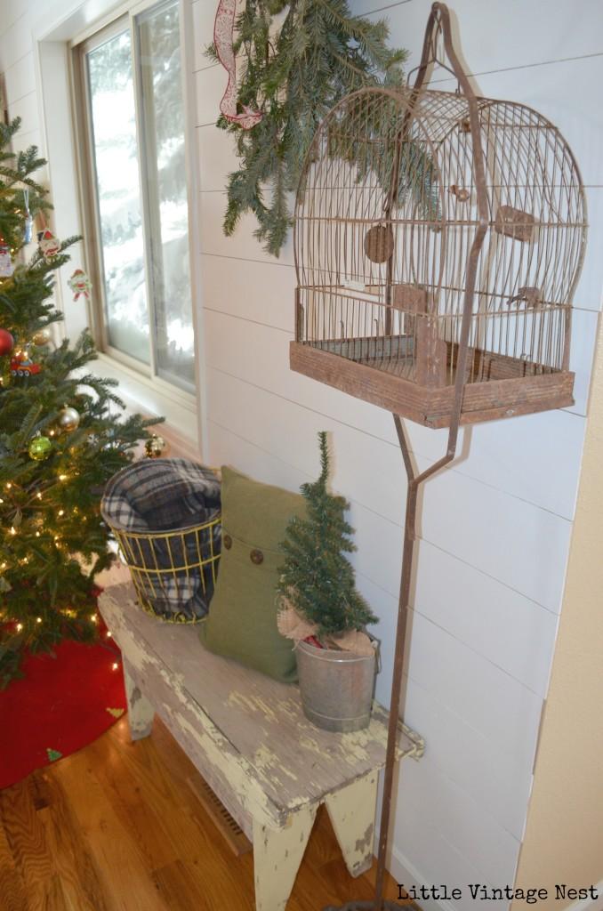 Little Vintage Nest Christmas Tour Birdcage