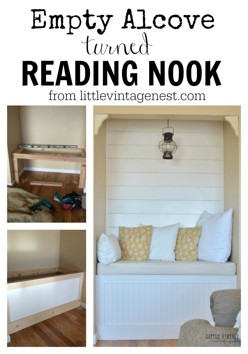 Reading Nook with Planked Wall