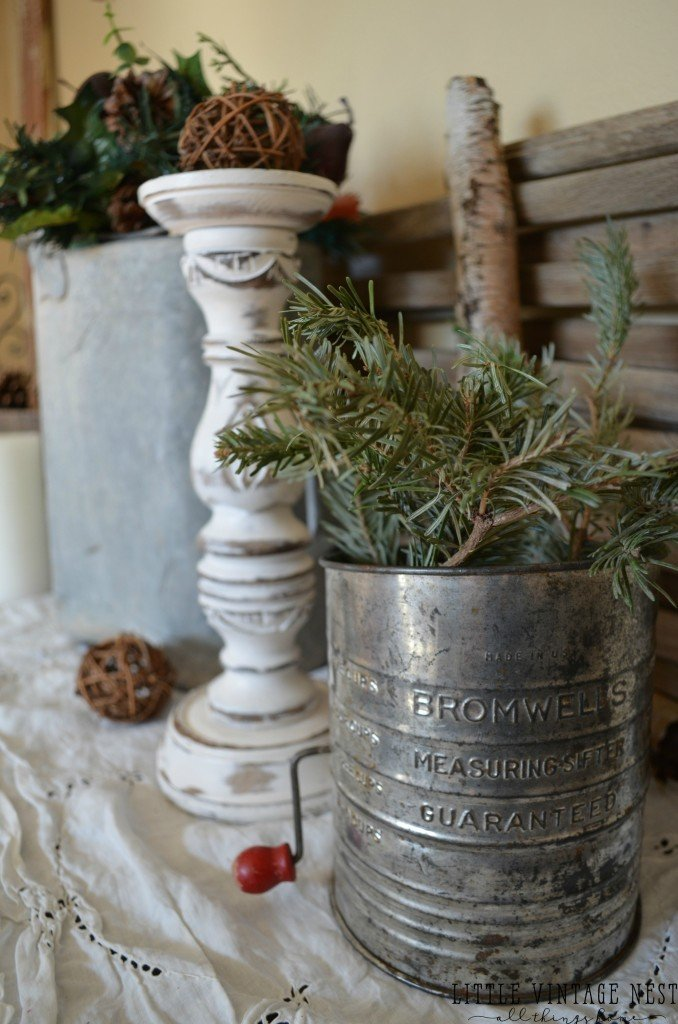 Winter Decor 101--Tips and Tricks from Little Vintage Nest
