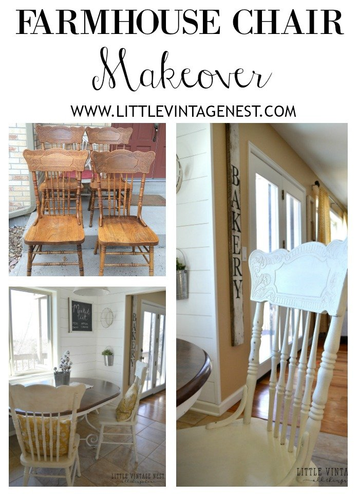 Friday Flip: Farmhouse Chairs Makeover