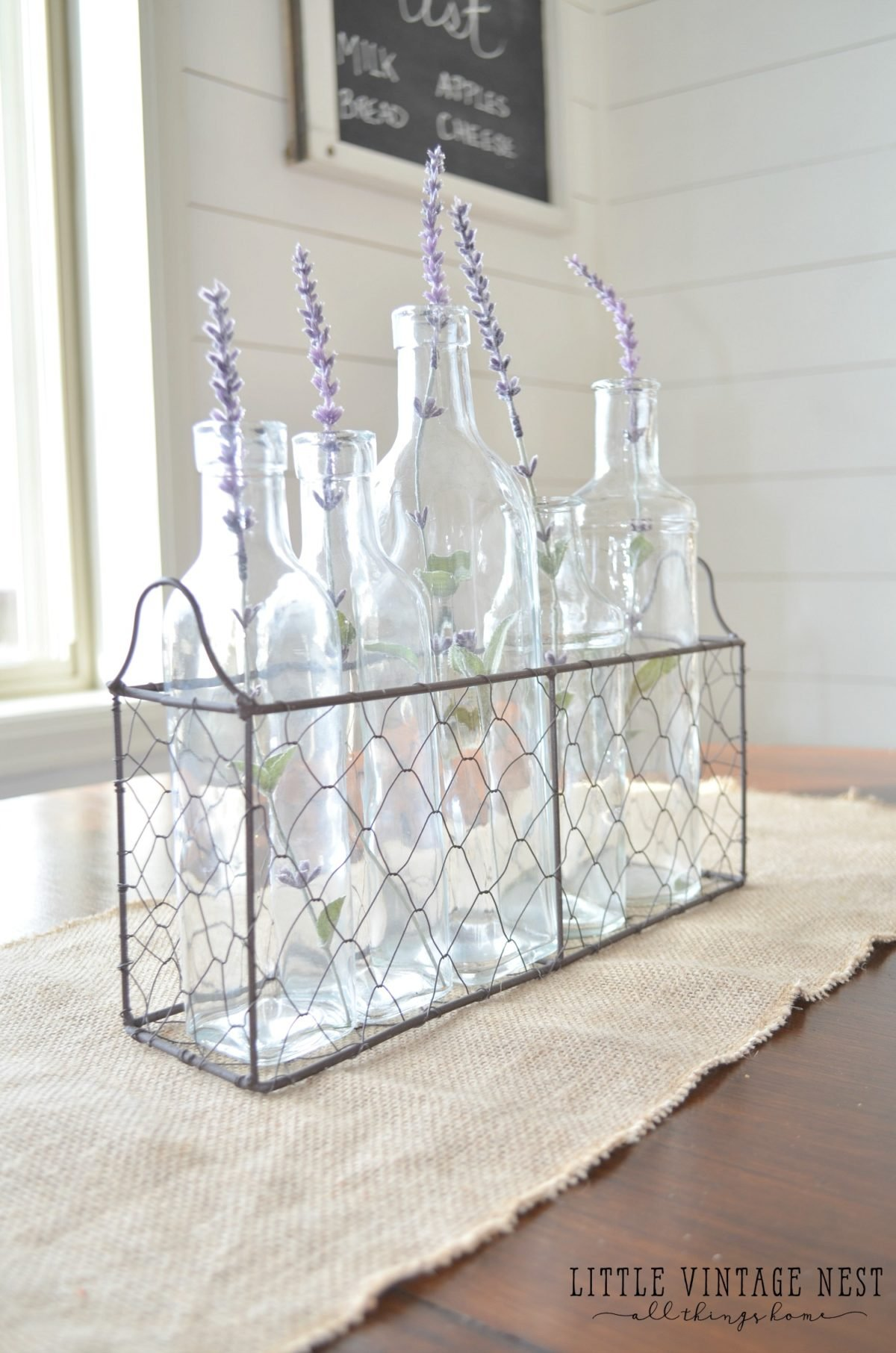 Farmhouse Style Decorating With Wire Baskets Sarah Joy Blog