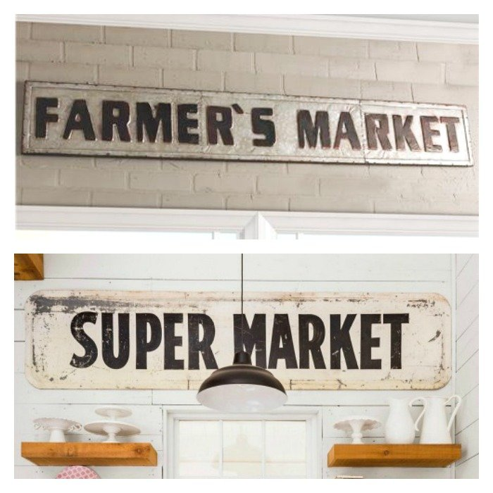 Super Market Sign Inspiration