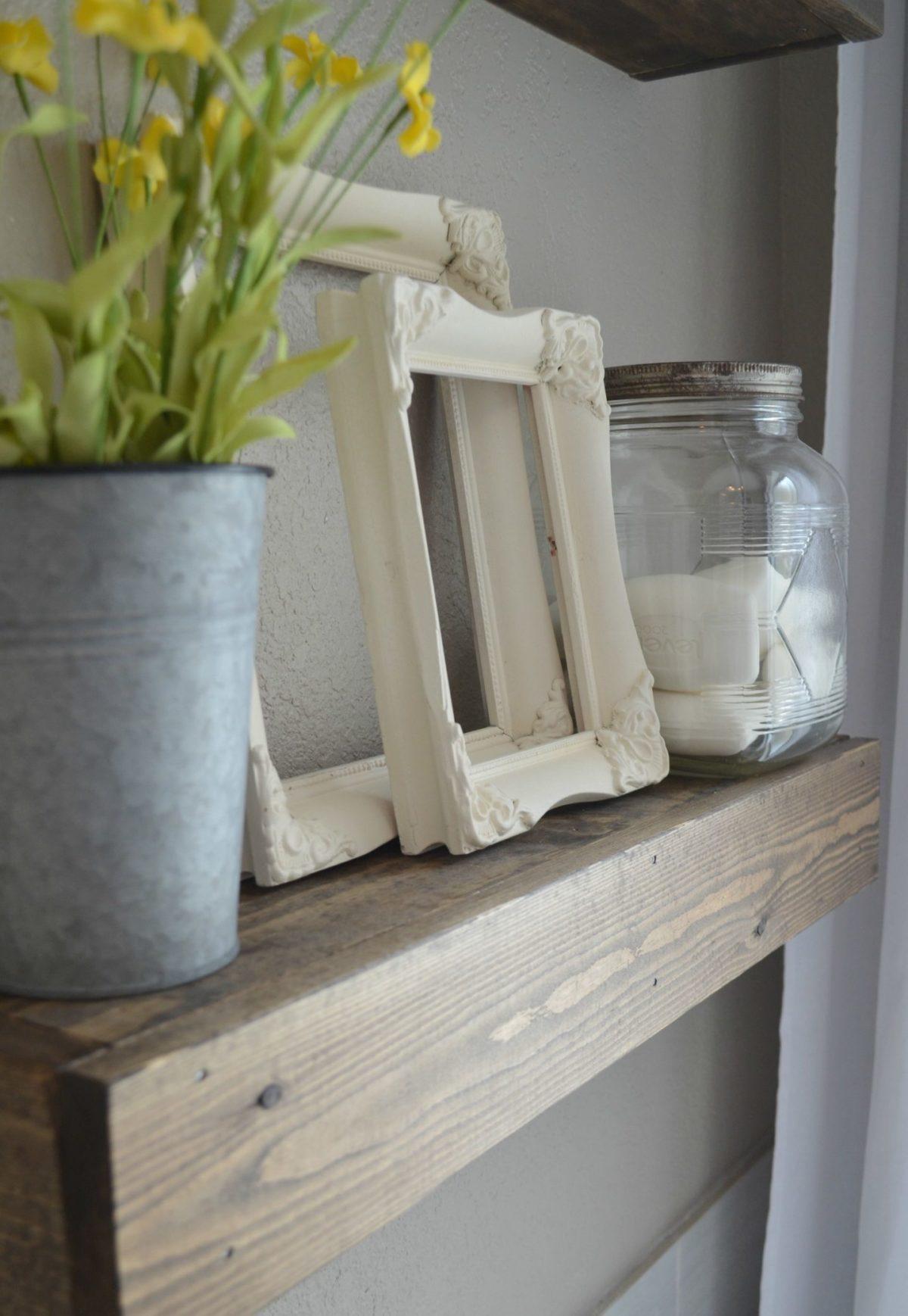Farmhouse Bathroom Decor Mason Jar And Soap Sarah Joy