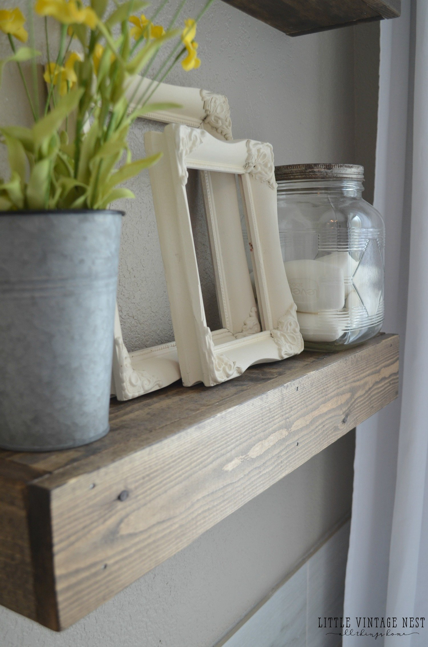 Farmhouse Bathroom Decor Mason Jar and Soap