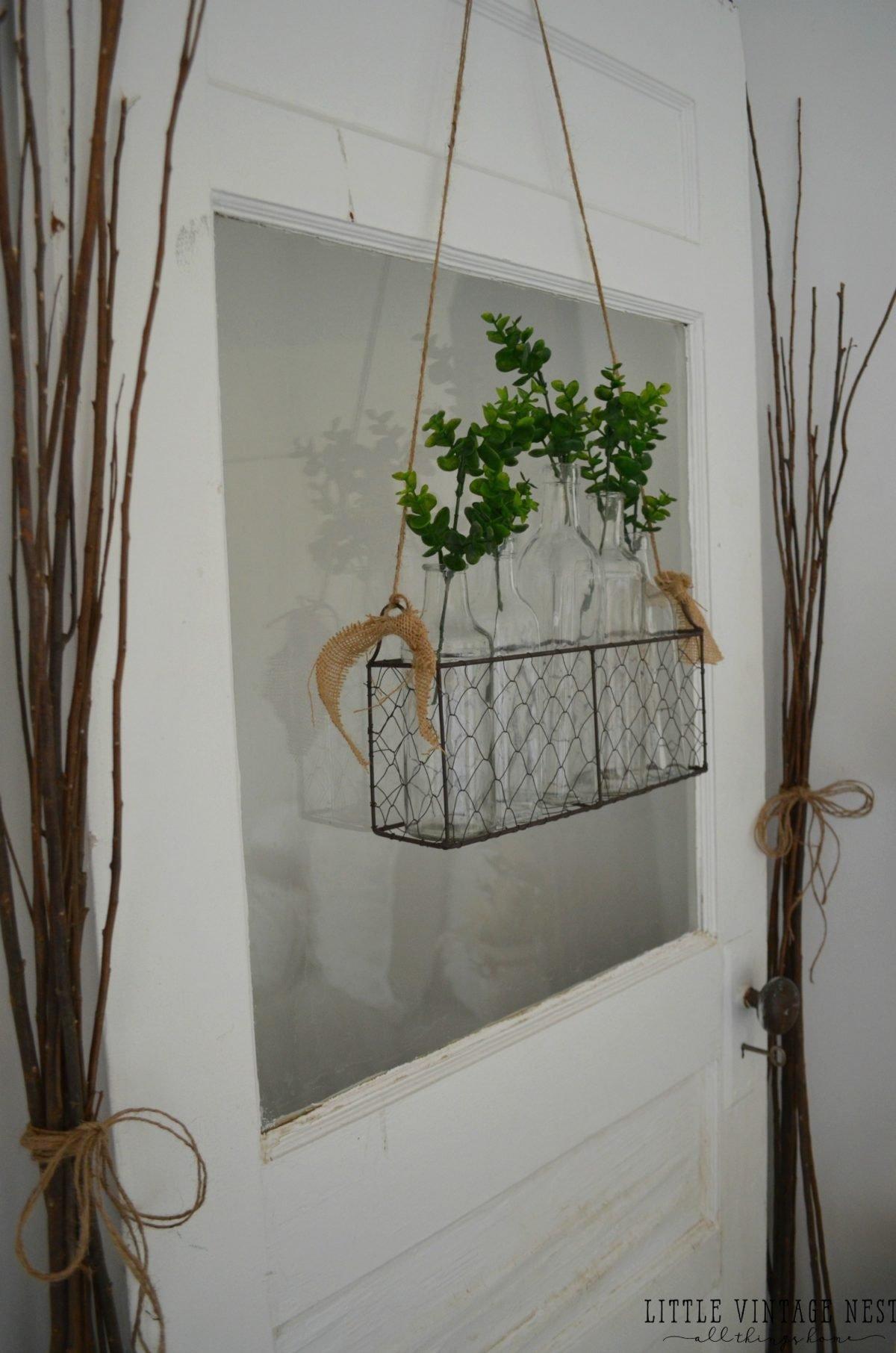 Vintage Inspired Guest Bedroom::Old Door