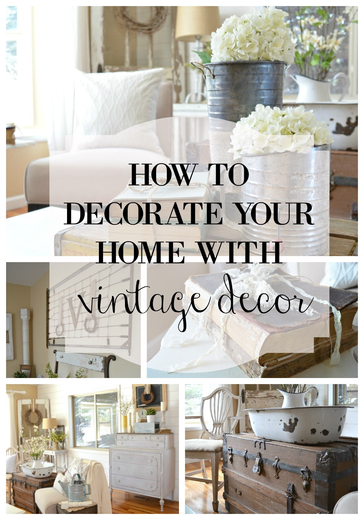 How to decorate your home with vintage decor