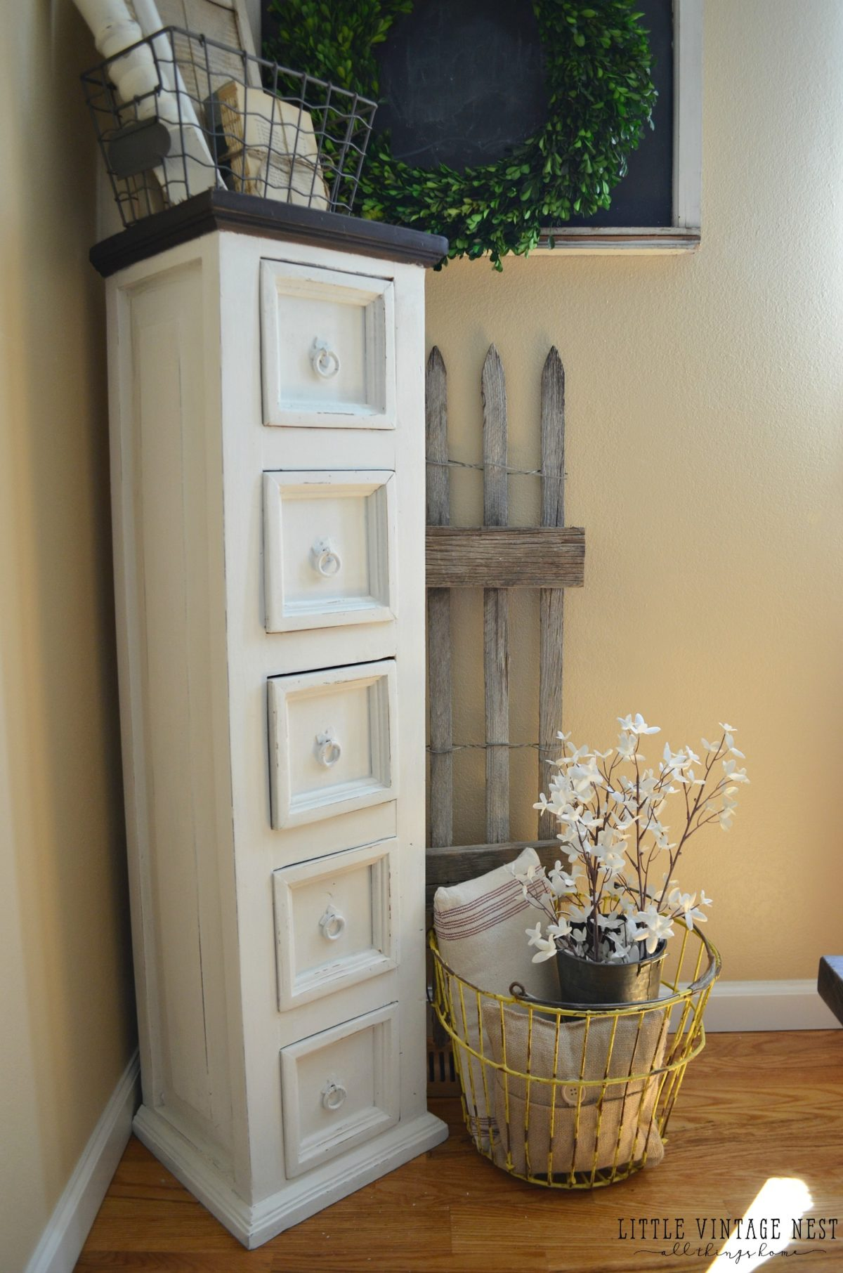 Farmhouse Decor & Dining Room Storage Cabinet