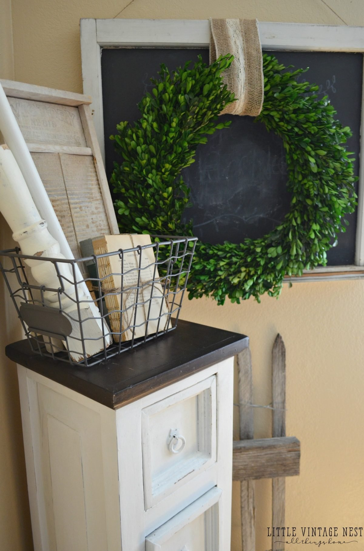Farmhouse Dining Room and Storage Cabinet