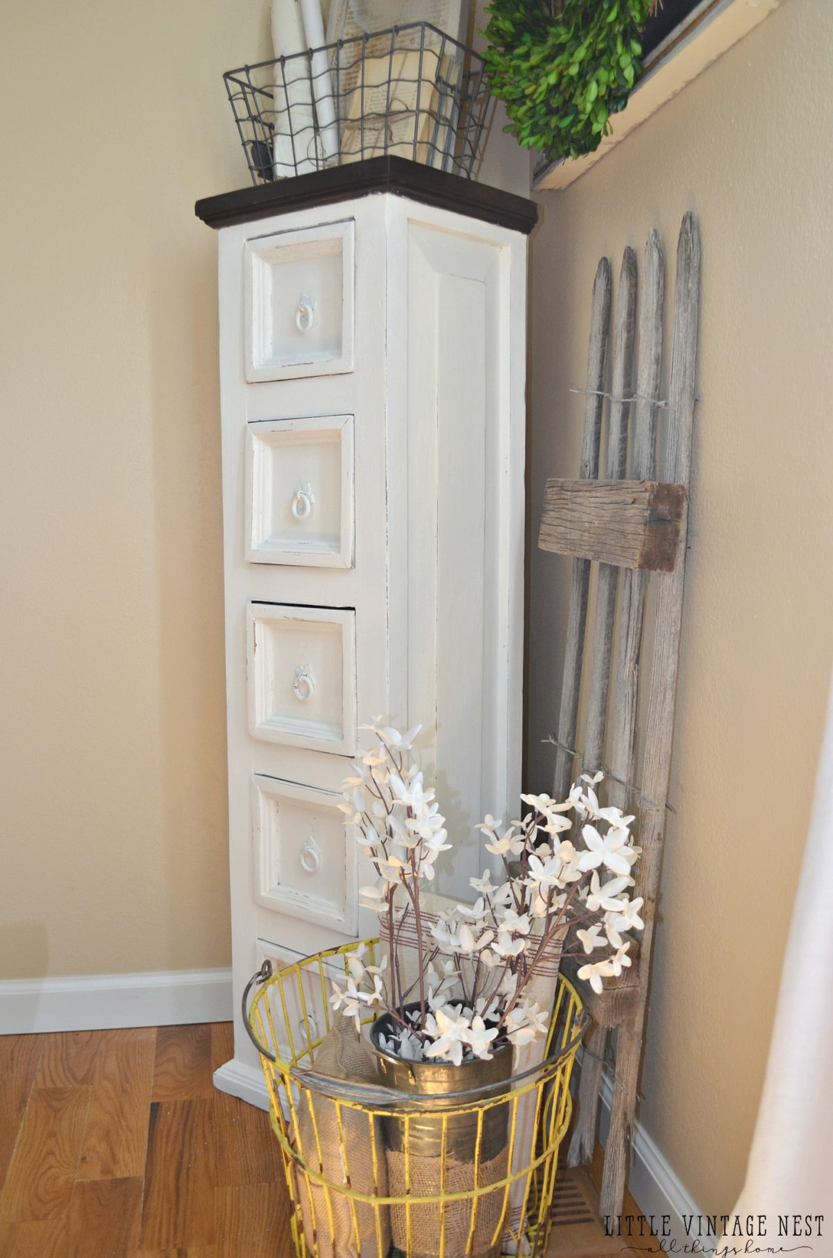 Farmhouse Dining Room Storage Cabinet