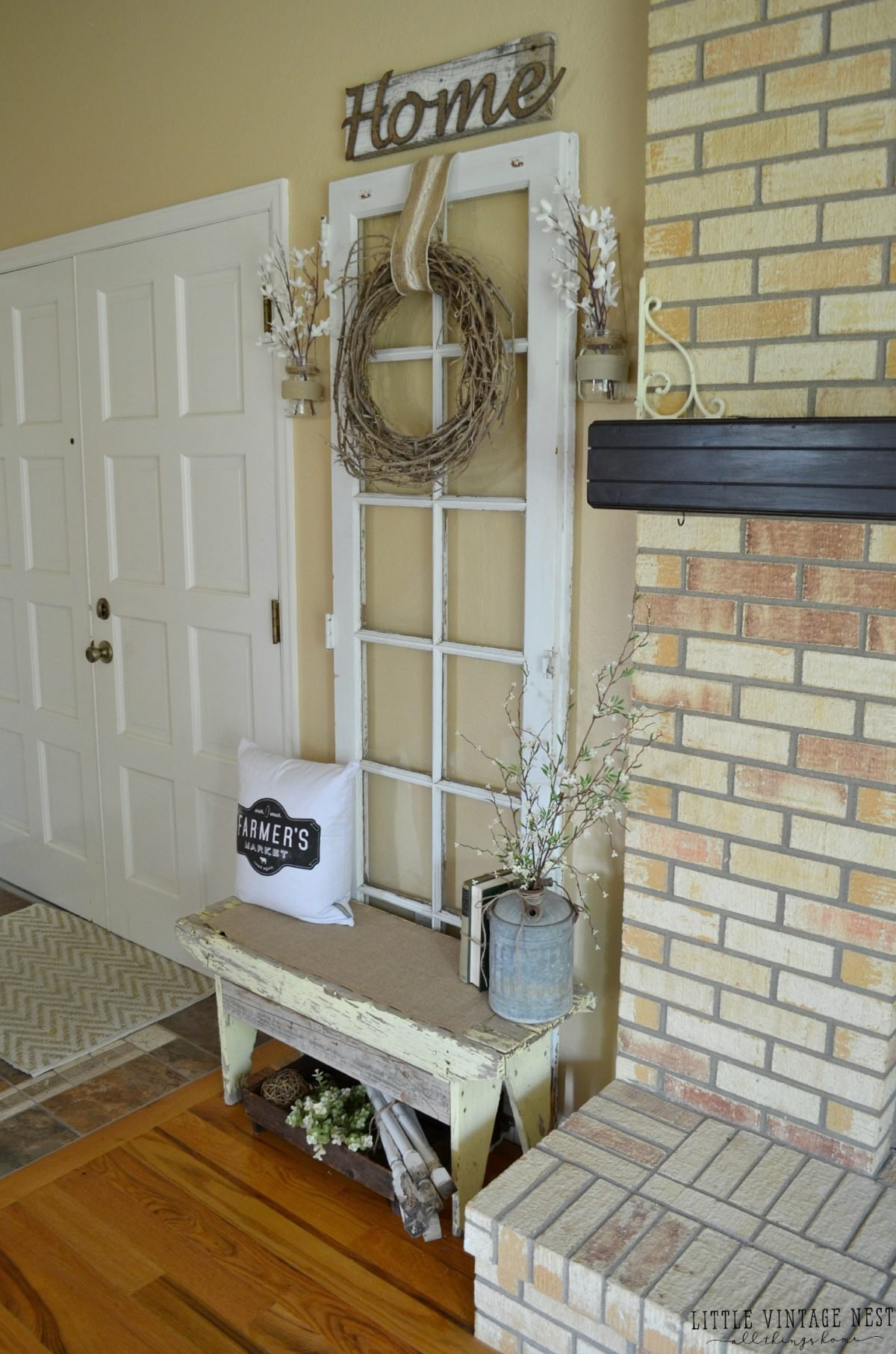 Old Door in Entryway