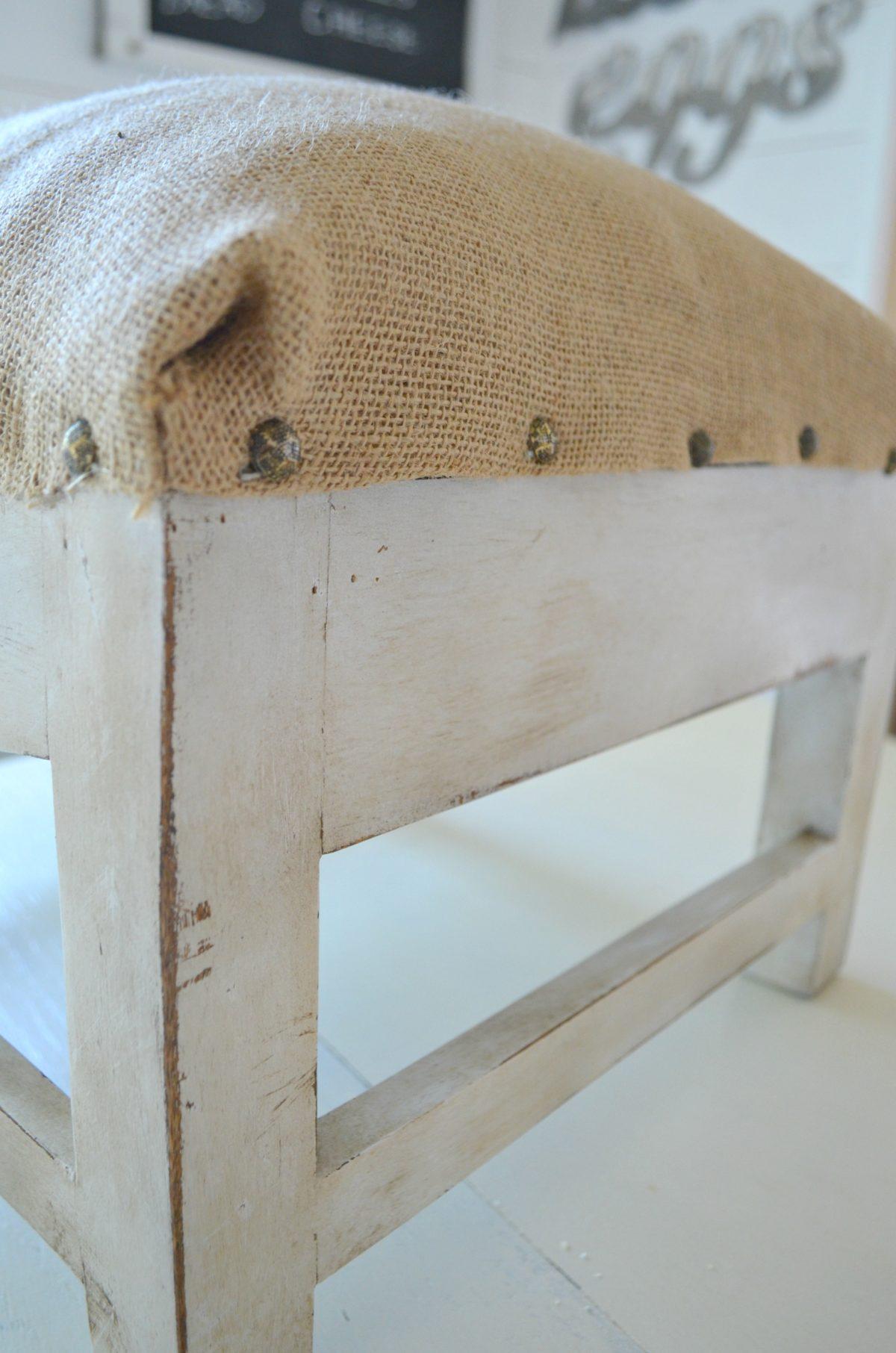 Astounding Diy Farmhouse Foot Stool 6 Sarah Joy Blog Alphanode Cool Chair Designs And Ideas Alphanodeonline