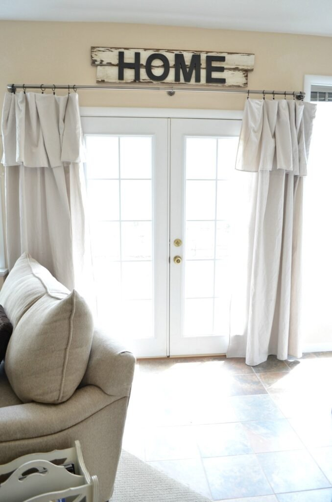 Drop Cloth Curtain Review