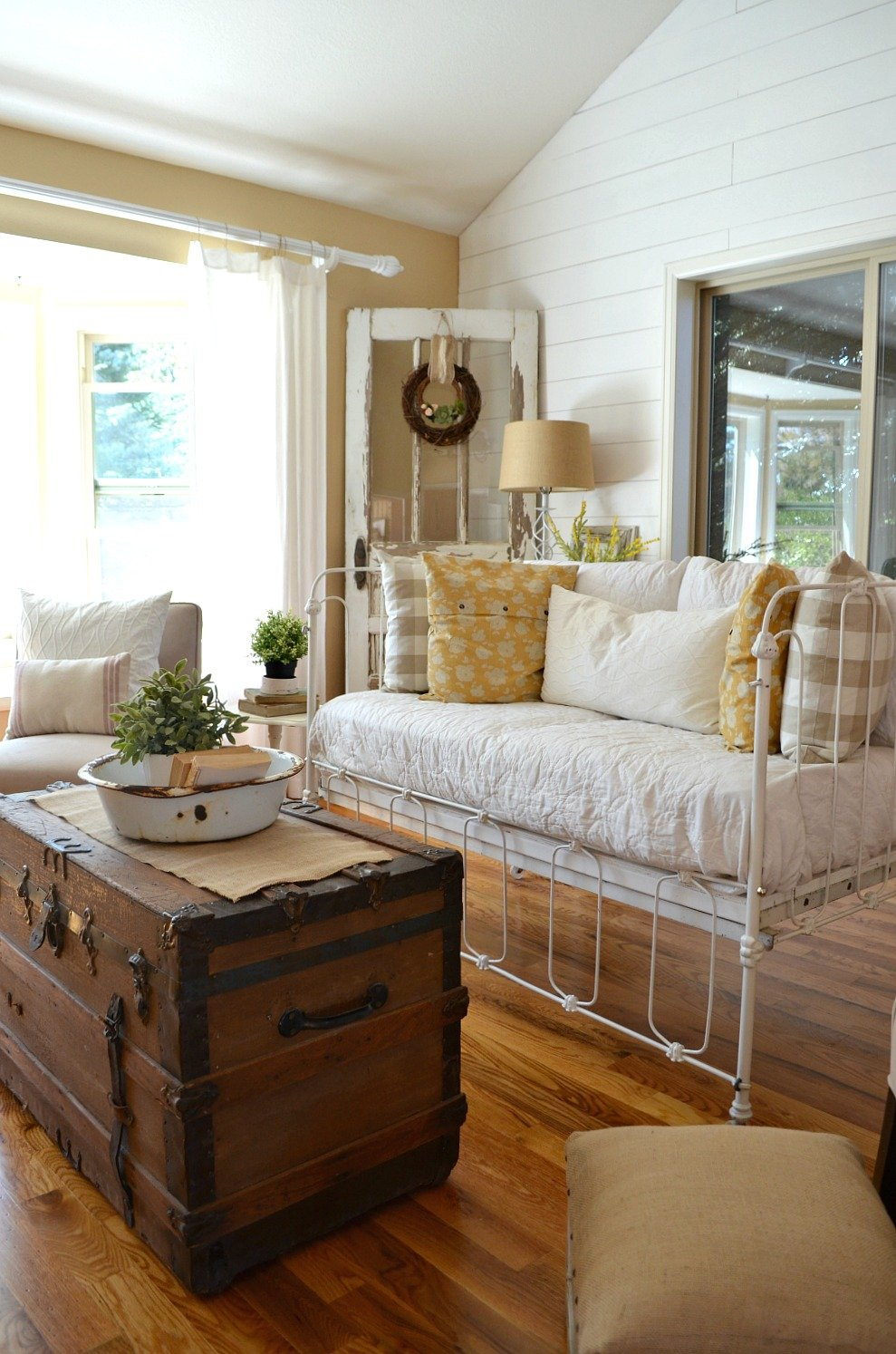 Vintage Crib Converted Into Couch Sarah Joy