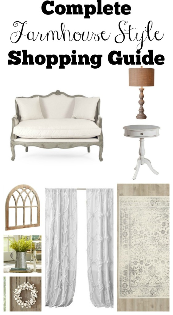 Complete Farmhouse Style Shopping Guide