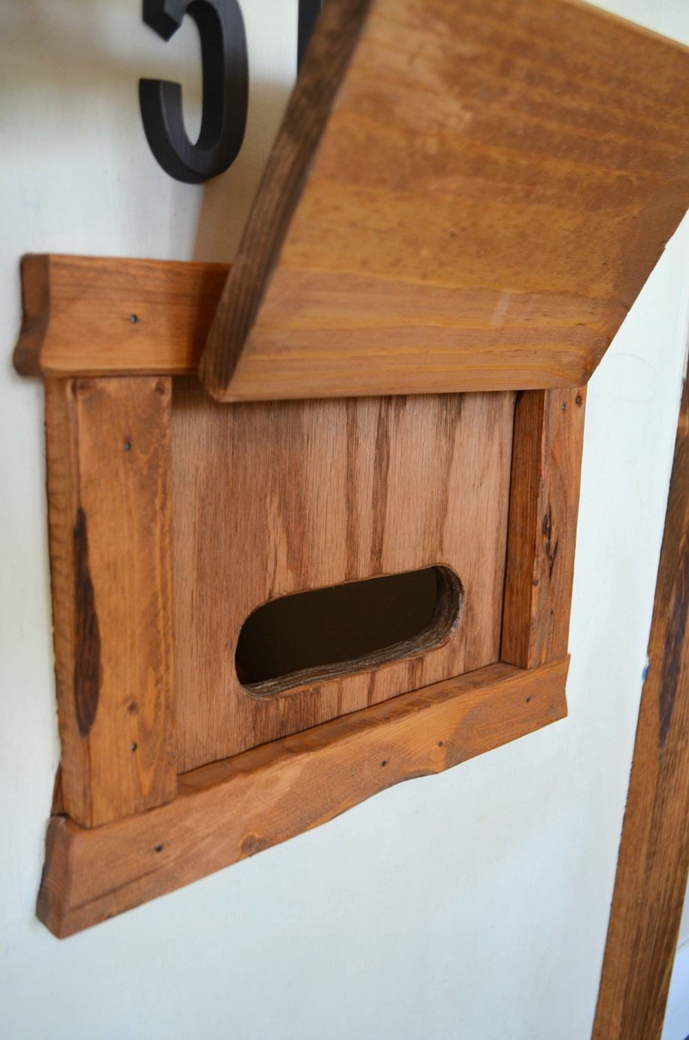 Indoor Playhouse Transformation Mailbox
