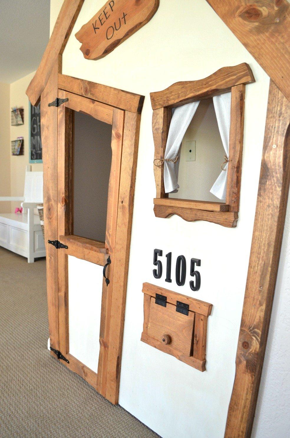 DIY Indoor Playhouse Transformation