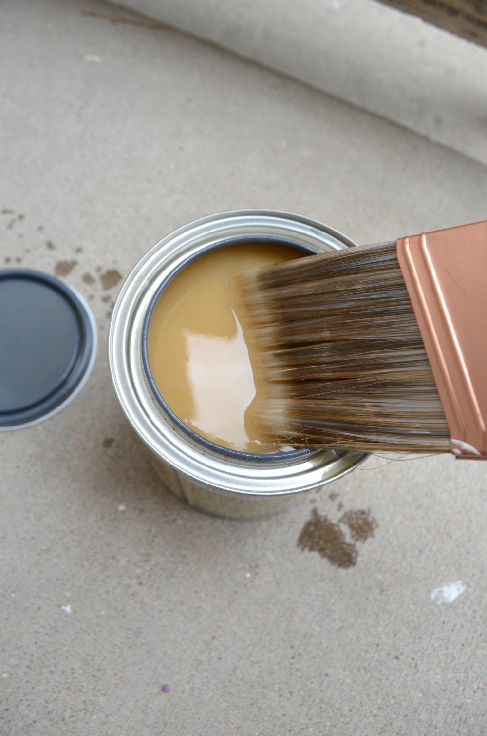 lead based paint and vintage decor