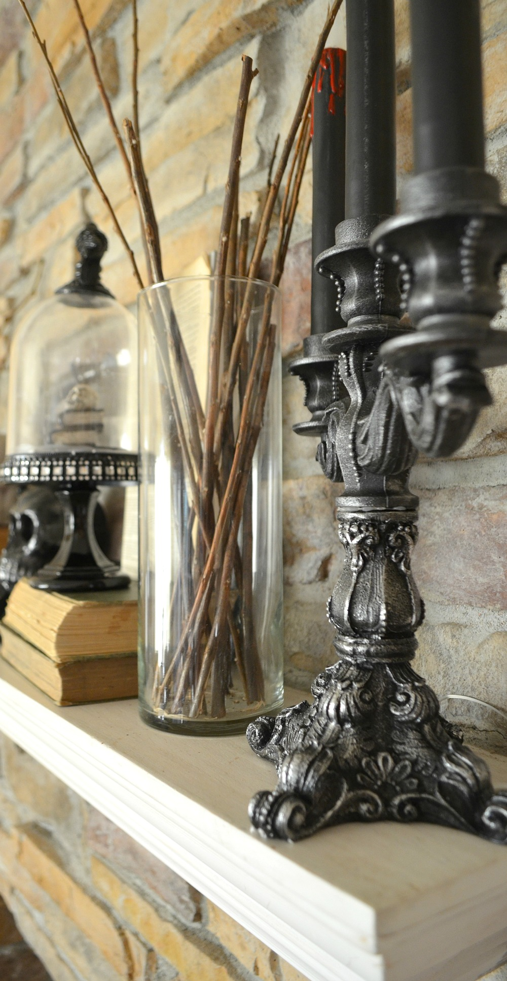 harvest-style-challenge-halloween-mantel-with-home-depot