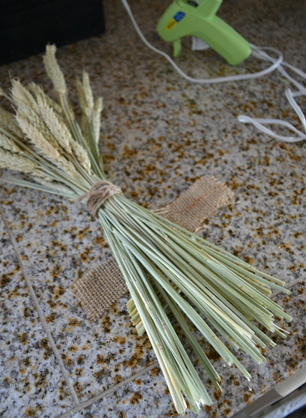 Wheat Stems for Fall Sign