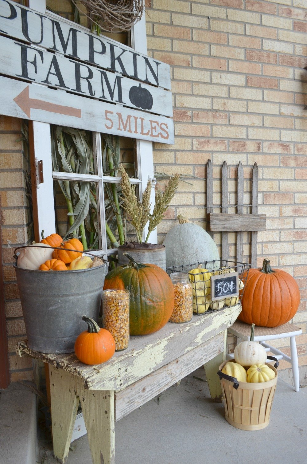 Farmhouse Fall Porch