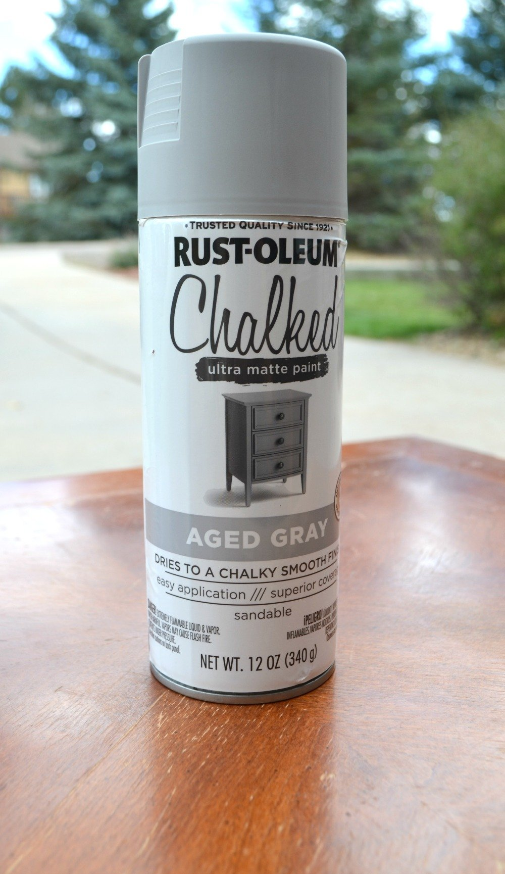 Chalk Paint - Full Review of Chalky Spray Paint | Sarah Joy Blog
