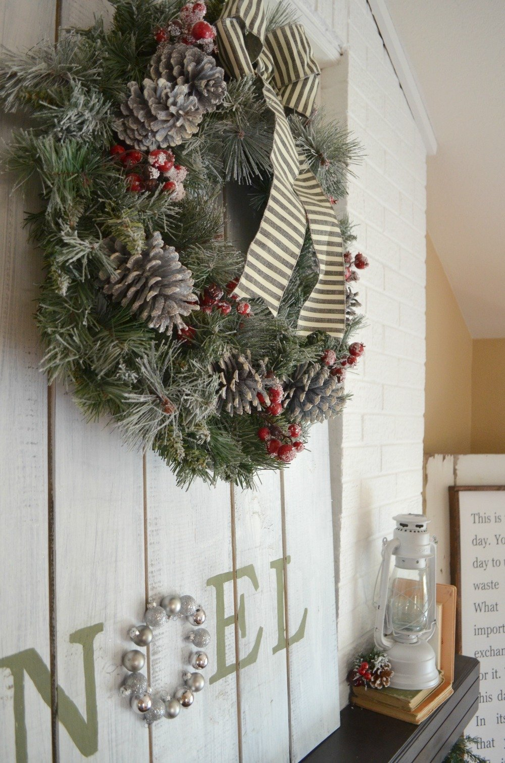 DIY Holiday Ornament Display