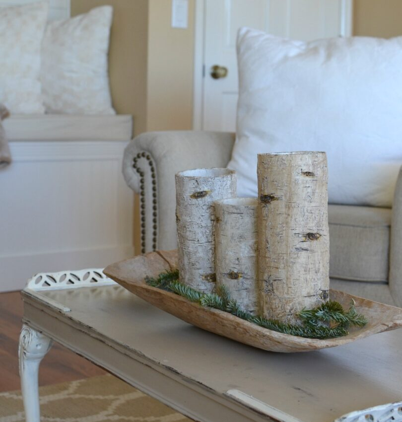 How to Transition from Christmas to winter decor. Easy tips to decorate your home for winter!