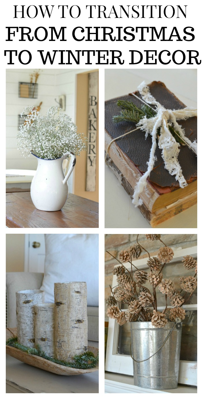How to Transition from Christmas to Winter Decor