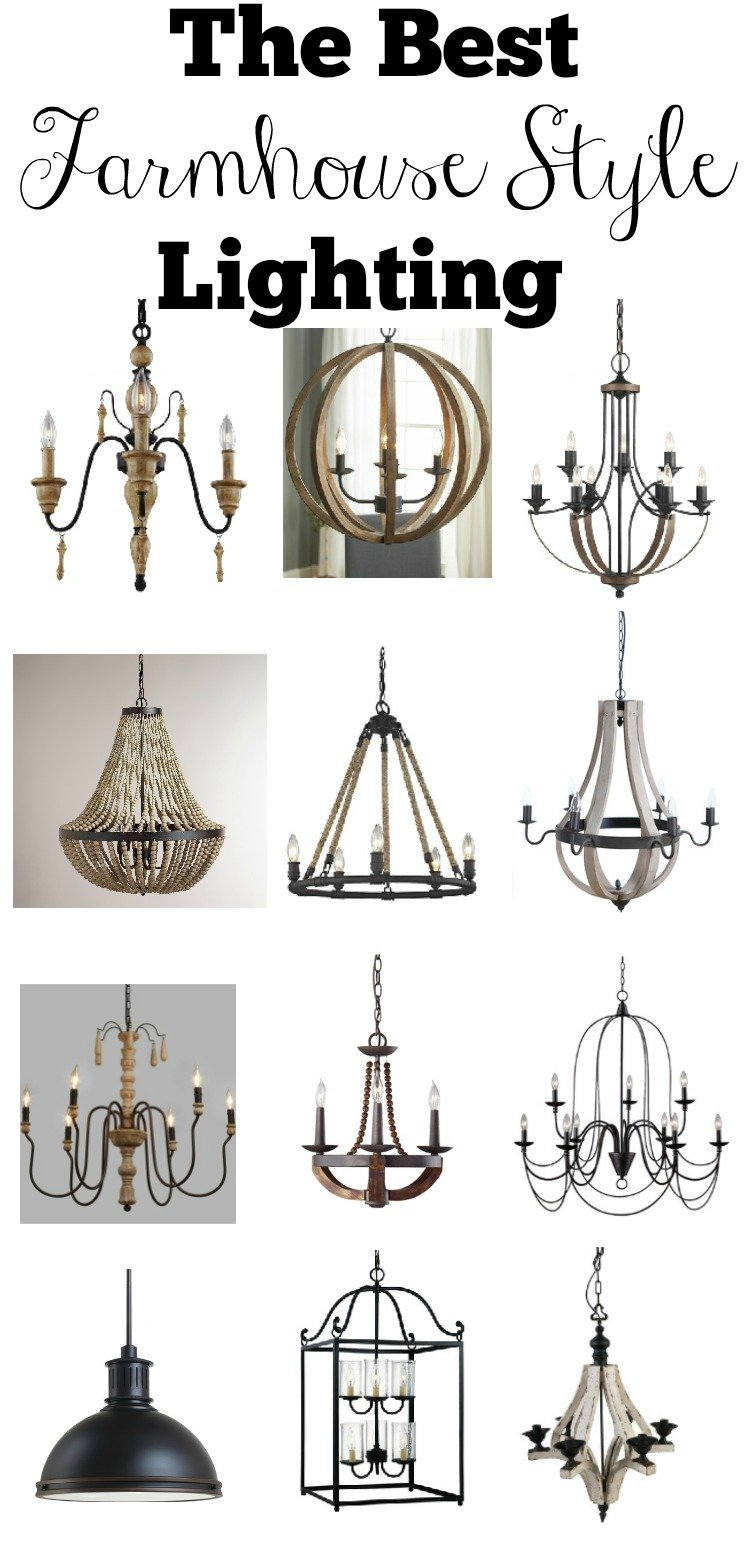 The best farmhouse style lighting inspired by fixer upper these affordable light fixtures will add