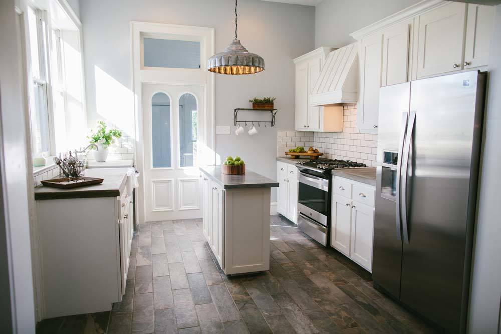 The Best Fixer Upper Kitchens. Beautiful farmhouse style kitchen all done by Joanna Gaines.