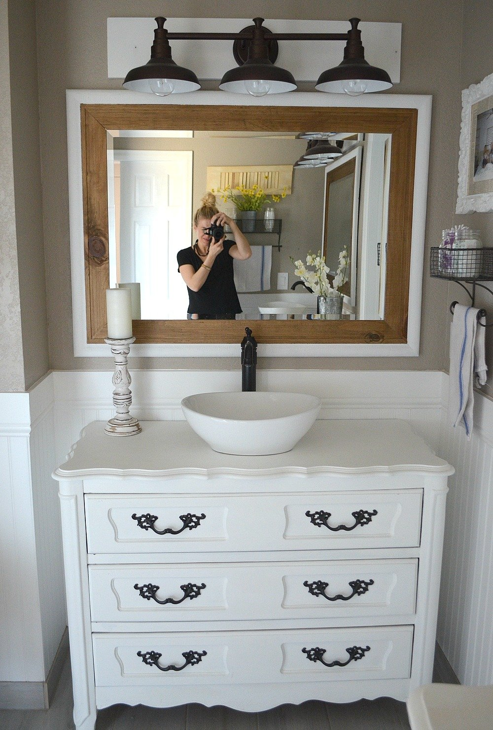Stupendous Honest Review Of My Chalk Painted Bathroom Vanities Download Free Architecture Designs Intelgarnamadebymaigaardcom