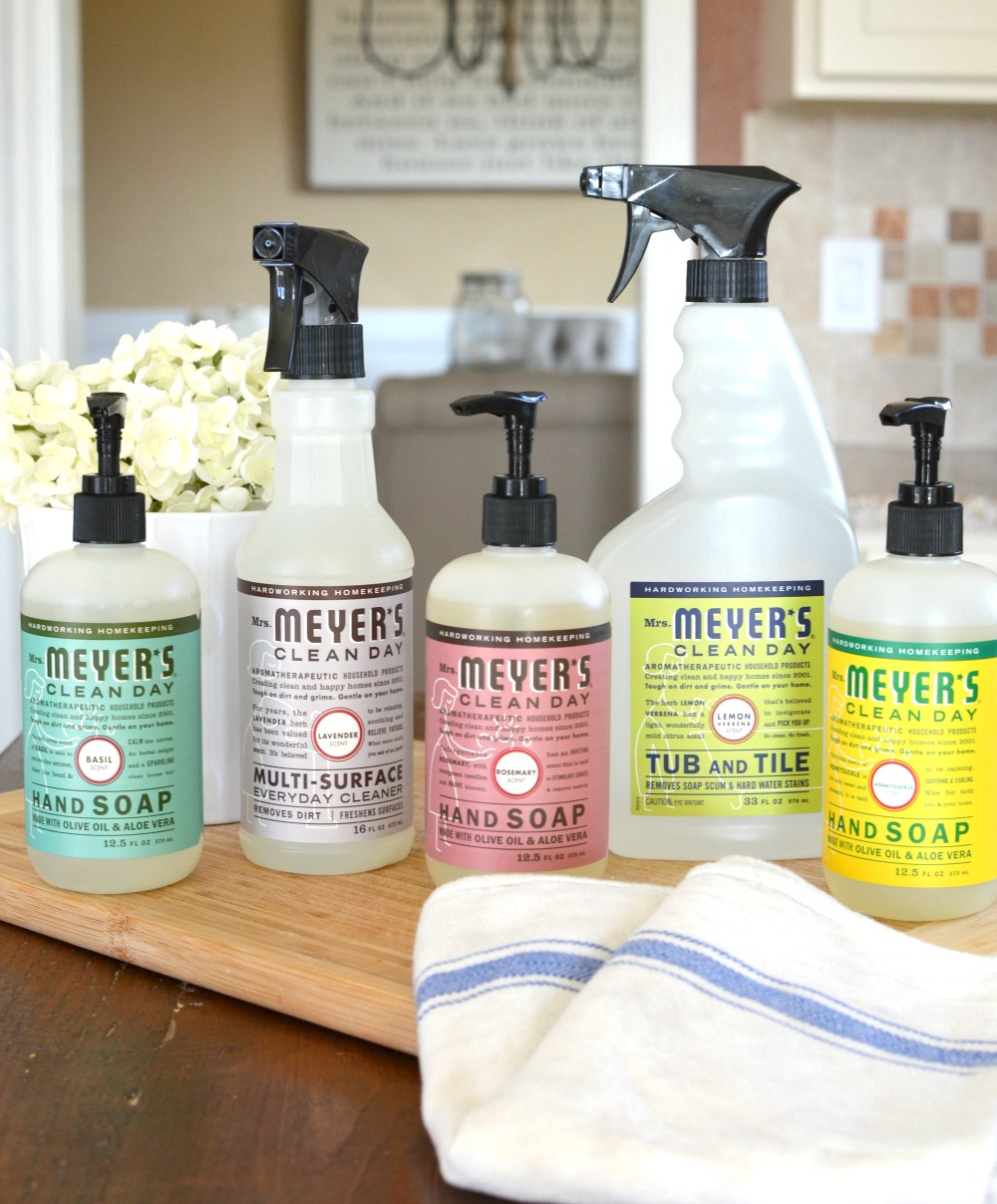 Friday Favorites: Mrs. Meyers Cleaning Products