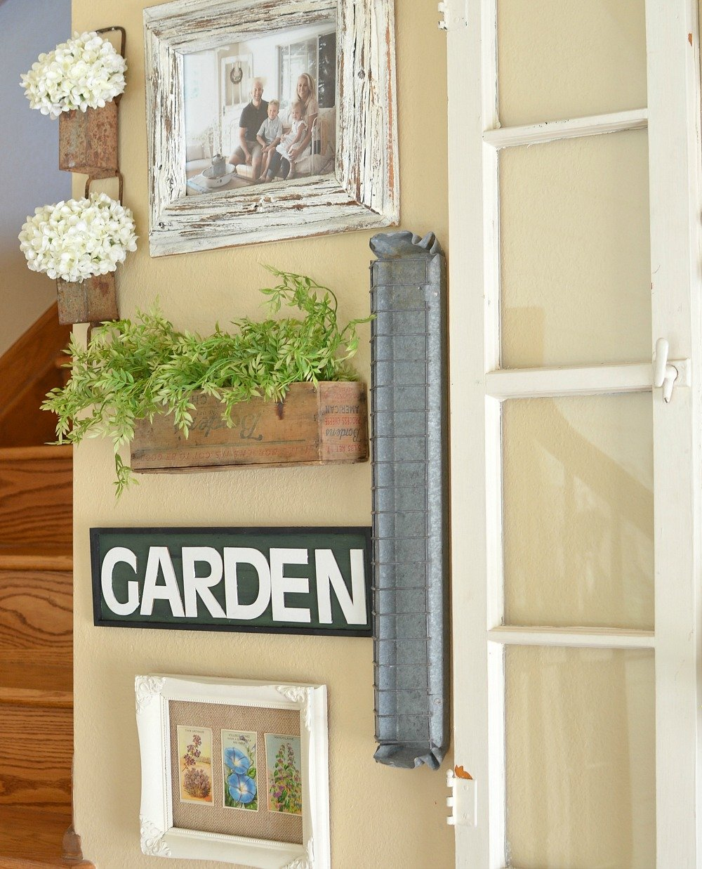 Magnolia Market Inspired DIY Garden Sign