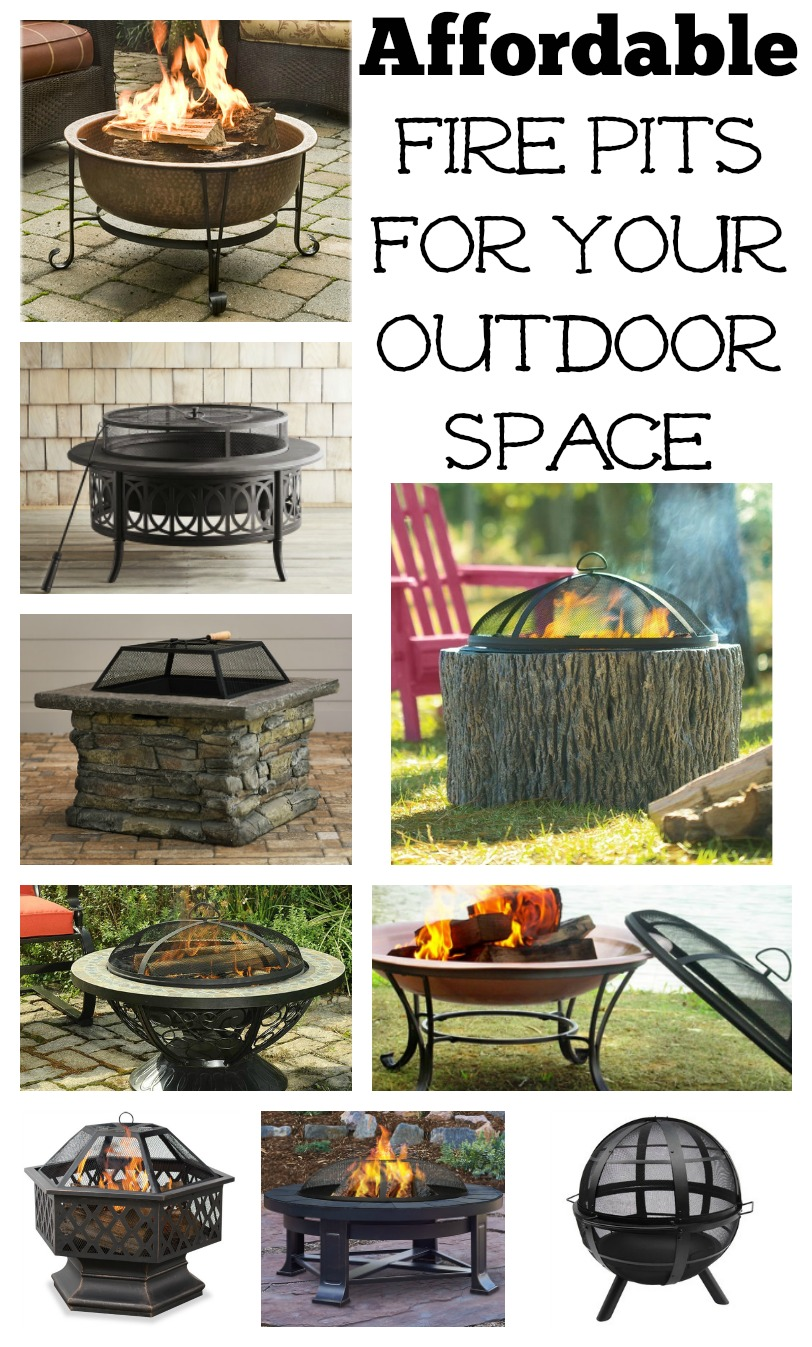 Affordable fire pits for your outdoor living space