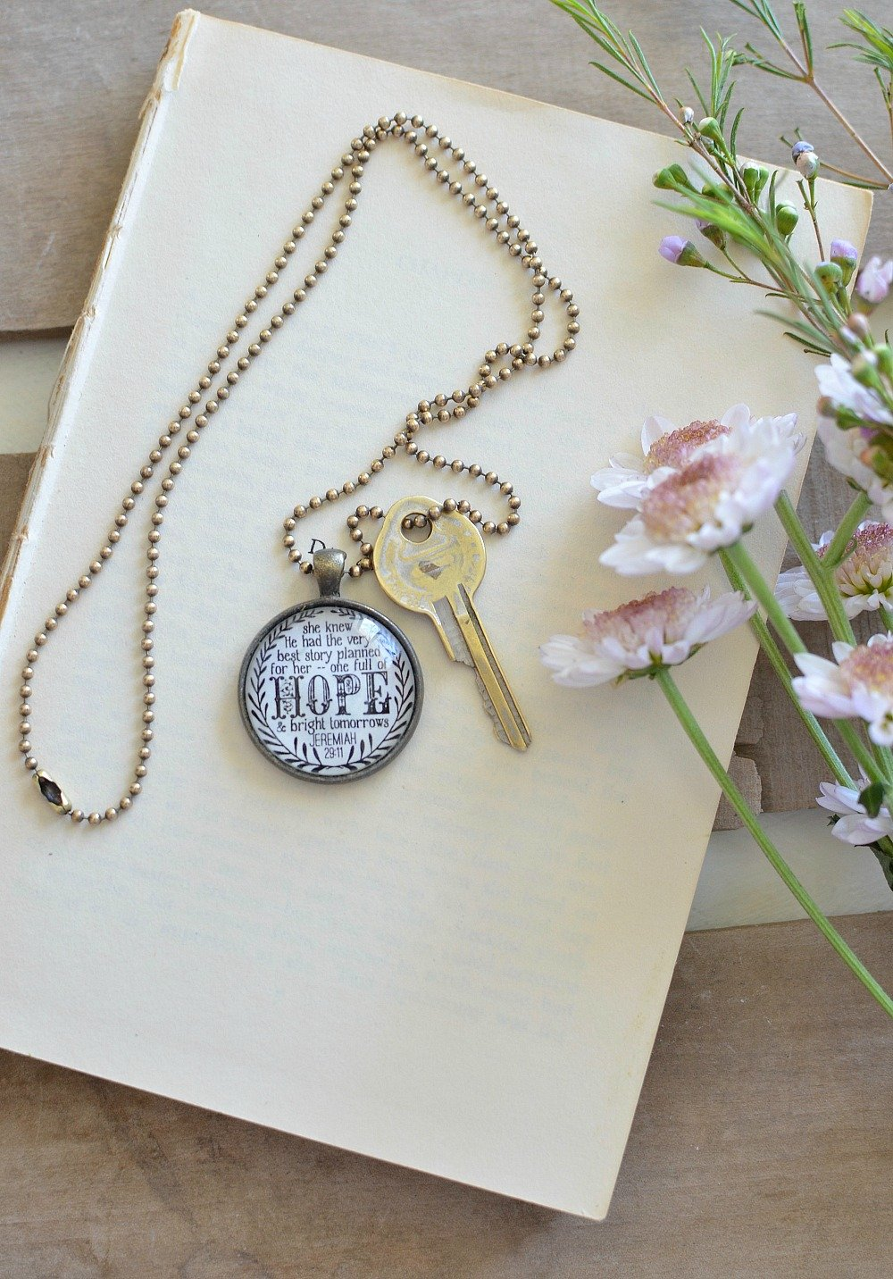 Friday Favorites: Necklace with Bible Verse