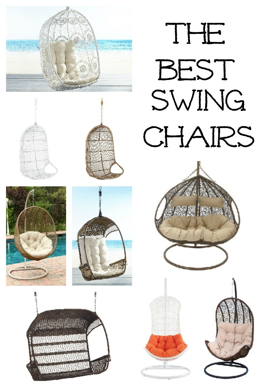 The best chair swings for your outdoor living space