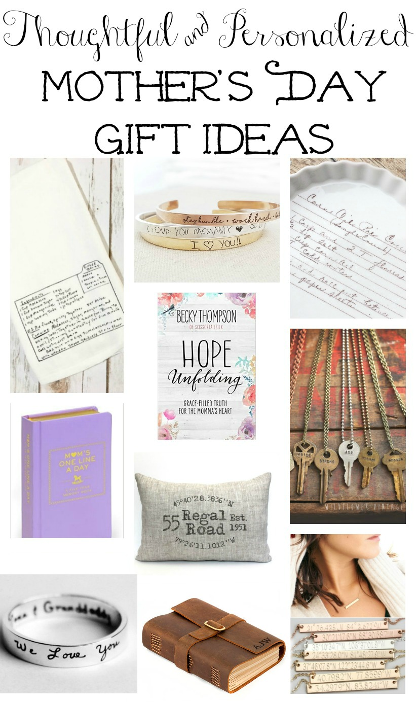 Thoughtful and personalized Mother's Day gift ideas all under $75