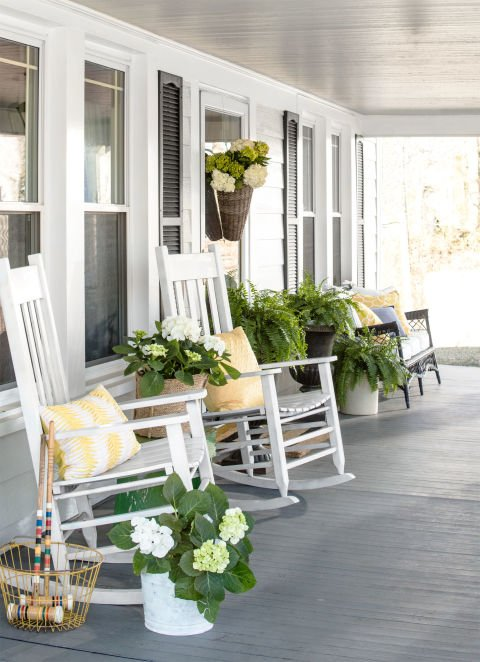 Farmhouse Style Outdoor Decorating Ideas and Shopping Guide