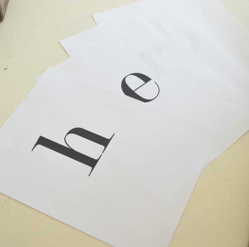 The 10 Minute DIY Herb Sign. Easy farmhouse style summer decor idea!