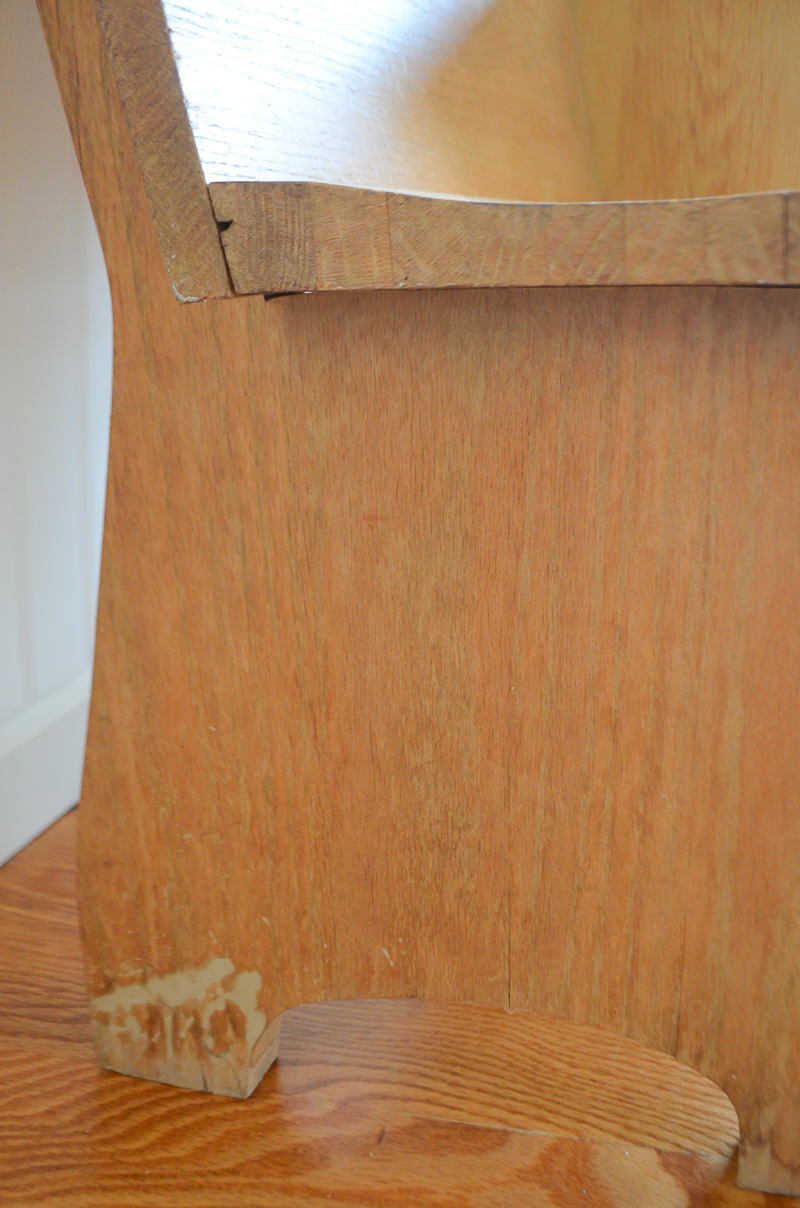 Restoring an Antique Church Pew