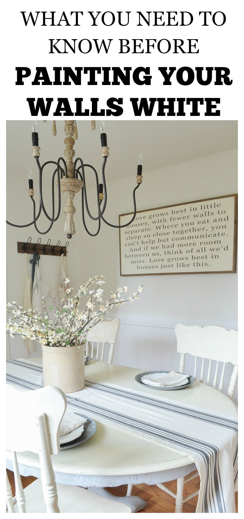 What to know before painting your walls white - What do you need to paint a room ...