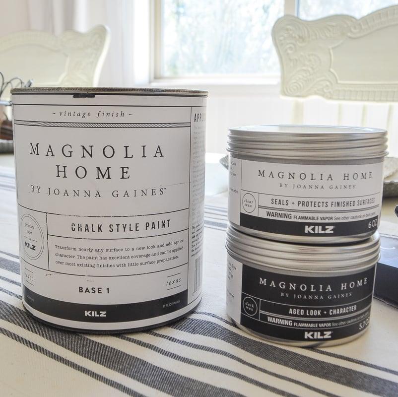 Chalk Paint Review Of The Magnolia Chalk Paint Wax Sarah Joy Blog