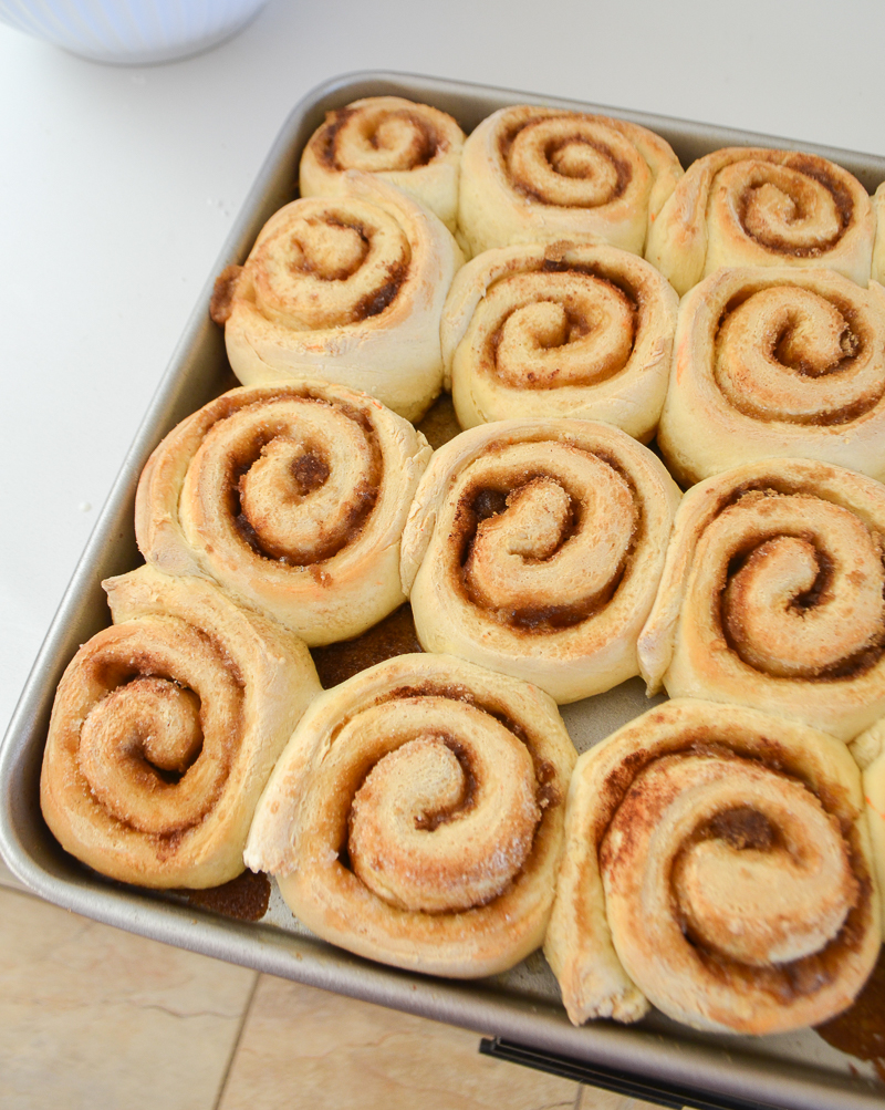 Granny's Quick and Easy Cinnamon Rolls
