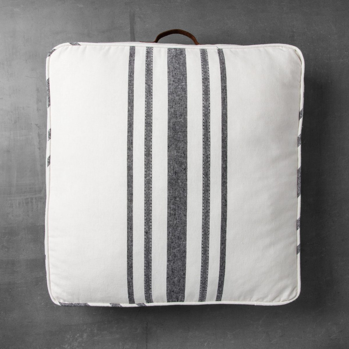farmhouse style floor pillow