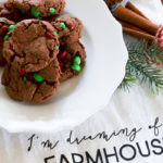 Double Chocolate Christmas Cookies