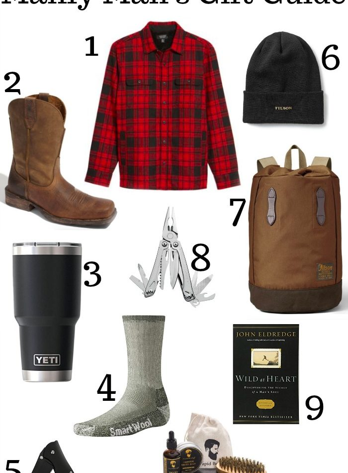 The Absolute Best Manly Man's Gift Guide
