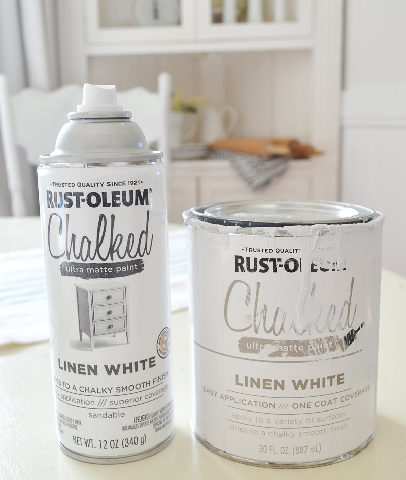 Rust-Oleum Chalky Spray Paint vs Regular Chalk Paint